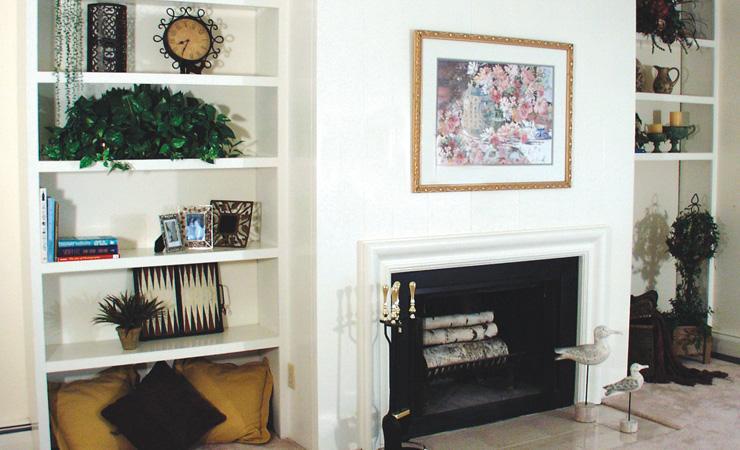 Madison Duplex for rent - Model of Living Room